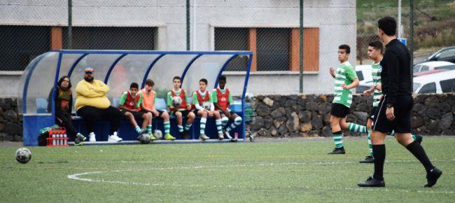 Con la familia del Sporting Tenerife.