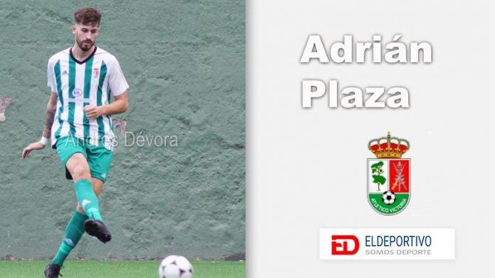 Adrián Plaza, un lujo de jugador en el Atlético Victoria.