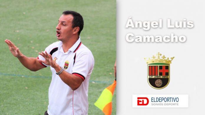 Ángel Luis Camacho, entrenador del C.F. Unión Viera.