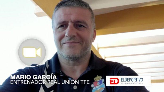 Mario García, del Real Unión Tenerife.