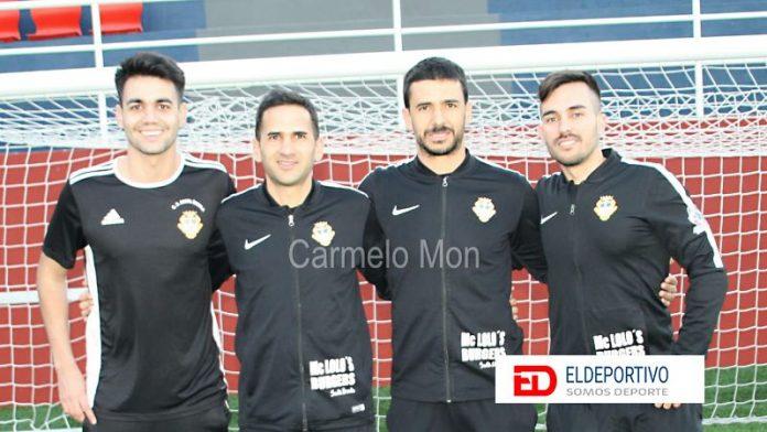 Rubén García y todo su cuerpo técnico seguirán una temporada más en el CD Santa Úrsula.