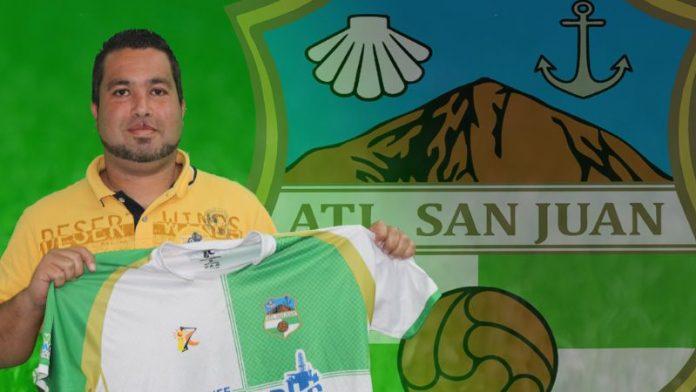 Jafet Ravelo, nuevo entrenador del Atlético San Juan.