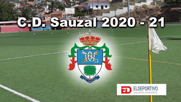Plantilla de el CD Sauzal para la temporada 2020 - 21.