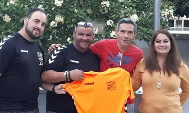 Toño Pérez afronta una nueva temporada en el CD Duggi Tranvía.