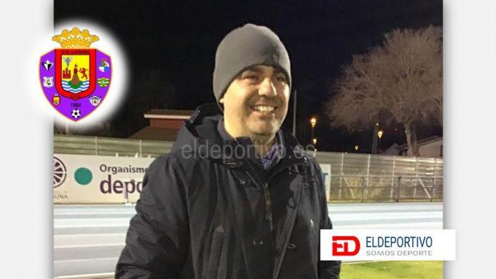 Sergio Alonso seguirá al mando técnico del primer equipo del CD Laguna.