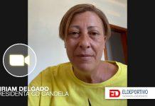 Previsualización de la vídeo entrevista de Miriam Delgado, presidenta del CD Candela.