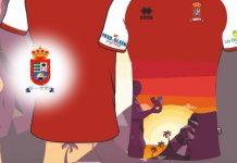 El CD Santos Reyes presenta su nueva camiseta.