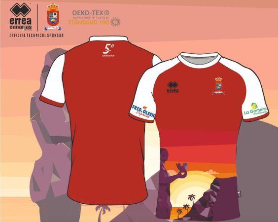 El Santos Reyes promociona su camiseta y da opción a su compra.