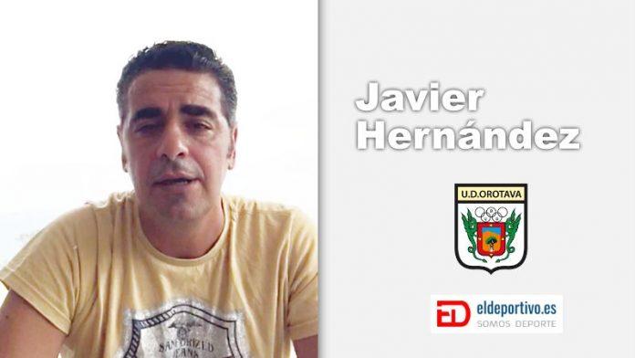 Imagen muy actualizada de Javier Hernández.