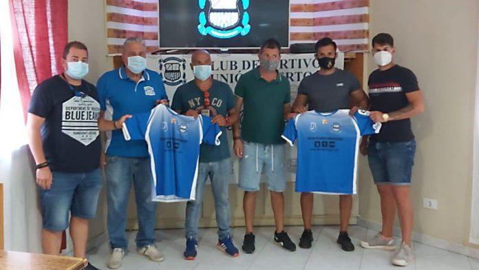 Equipo técnico de el CD Unión Puerto.
