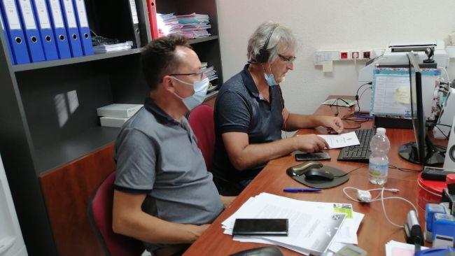 Reunión por videoconferencia de la FTF.