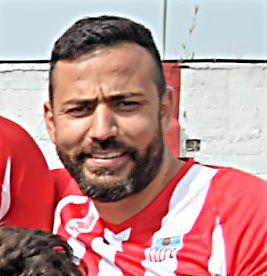 Josué en su etapa de jugador en la UD Tacoronte.