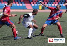 Jugada UD Lanzarote - Unión Viera CF