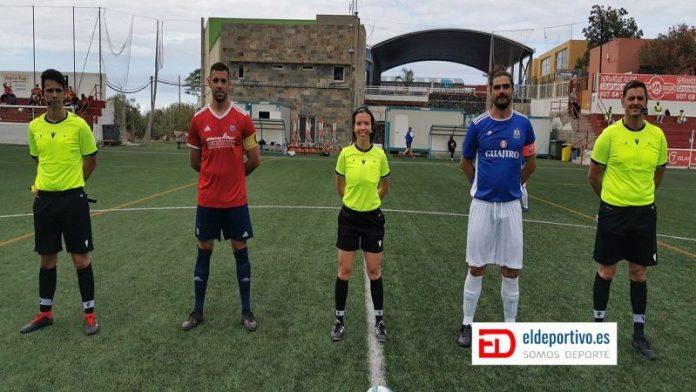 Trio arbitral UD Icodense - CD Unión Tejina