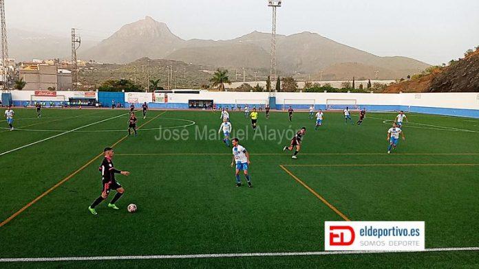 Imagen del partido disputado en la primera fase entre los dos equipos
