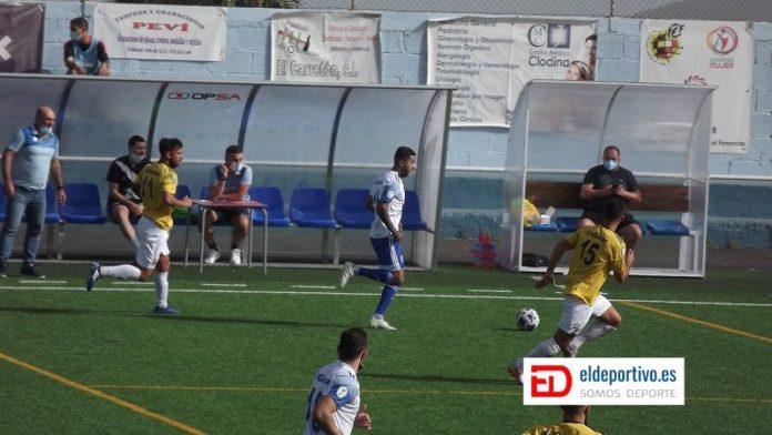Jugada del Atlético Unión Güímar - SD Tenisca