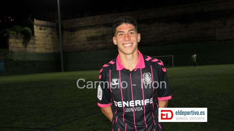 Ethyan, goleador del CD Tenerife B