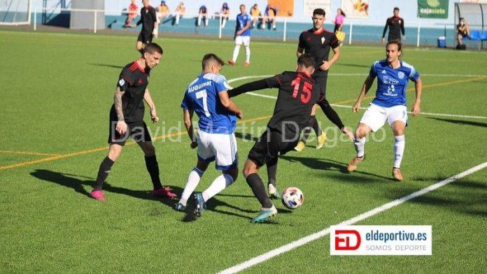 Jugada del Atlético Unión Güímar vs CD Mensajero