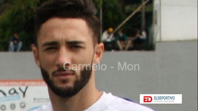 Amorín autor del único gol del Ibarra.
