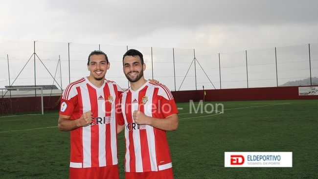 Azael y Marcos autores de los dos primeros goles del Santa Úrsula.
