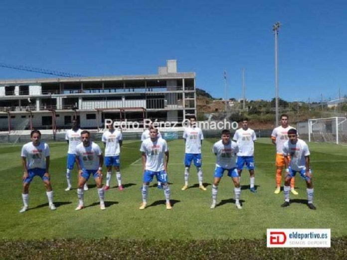 Una formación del CD Tenerife B en esta temporada
